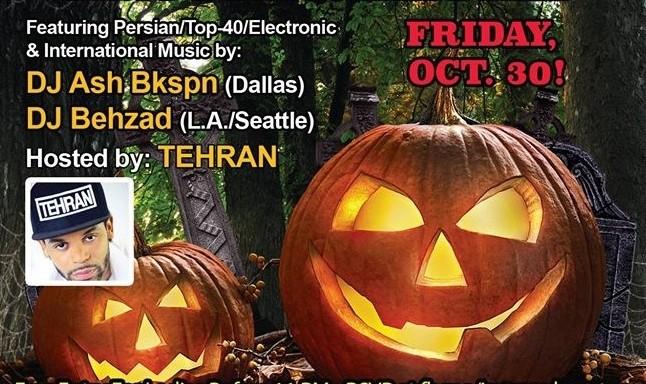 3rd Annual Persian Halloween Party & Masquerade Ball