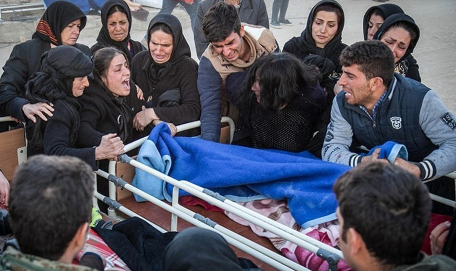 تصاویرزلزله امروز غرب کشور با بیش از ۶۰۰۰ مجروح و کشته در ایران و عراق