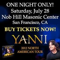 Yanni Concert in San Francisco