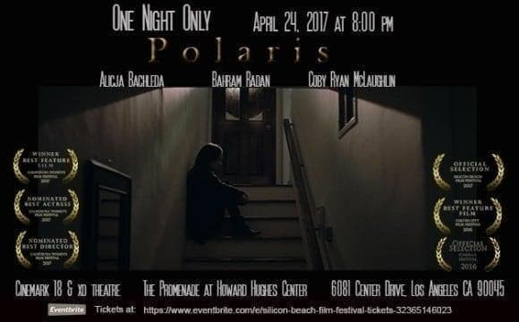 Screening of Polaris featuring Bahram Radan in Silicon Beach Film Festival