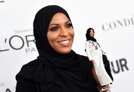 عروسک باربی با حجاب با الهام از شمشیرباز مسلمان آمریکایی به بازار میآید (+عکس و فیلم)