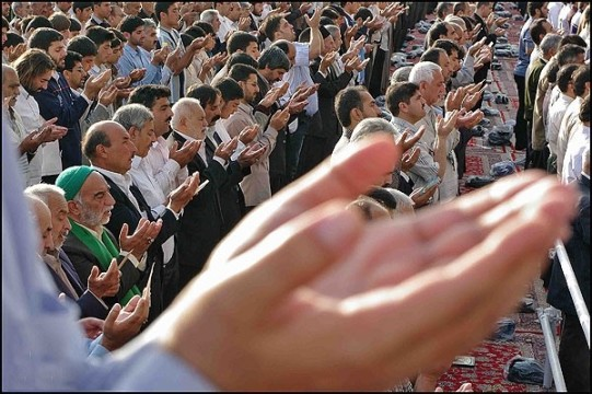 Eid Fetr Pray with Dr Mohsen Kadivar