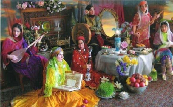Nowruz-Iranisches Neujahrfest