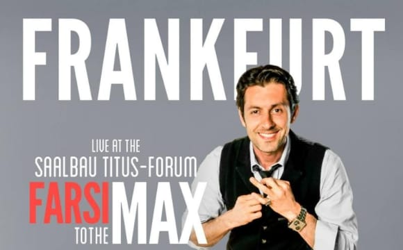 Max Amini Persian Comedy in Frankfurt