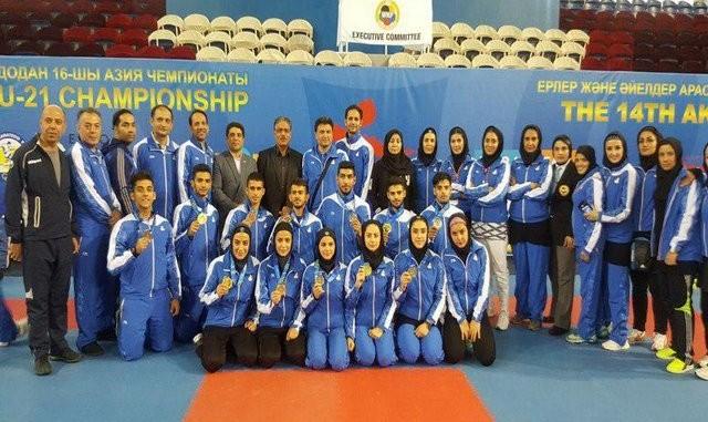 دو طلا ، دو نقره و یک برنز برای مردان کاراته ایران/ طلای ایران را نقره کردند!