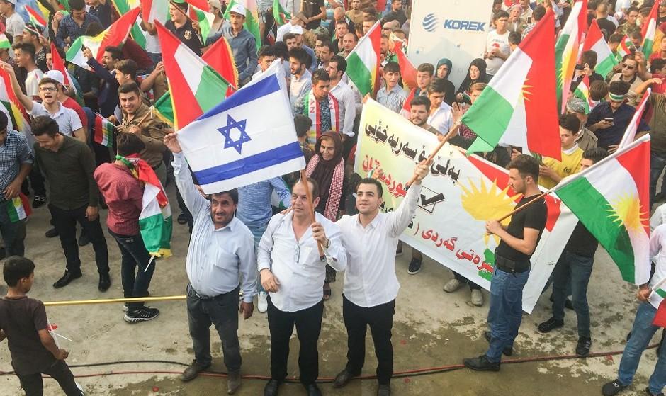 تشکر فرمانده نیروهای پیشمرگ کُرد از نتانیاهو به دلیل حمایت سیاسی تلآویو از اربیل