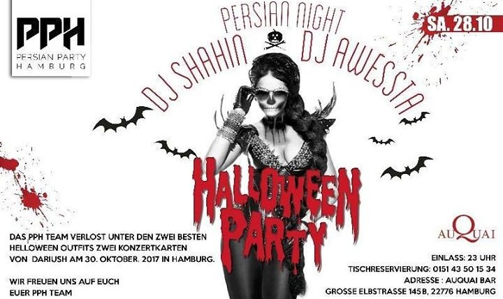 Persian Halloween Party