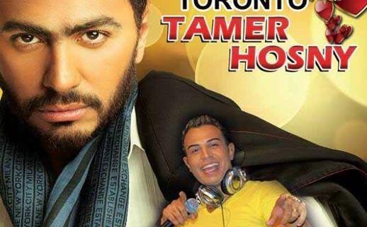 کنسرت تامر حسنی در تورنتو