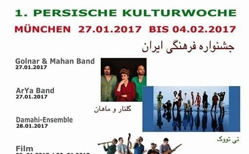 Persian Culture Week: Pallett, Golnar and Mahan Band and many others