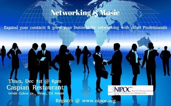 Networking & Music, By Network of Iranian American Professionals of Orange County