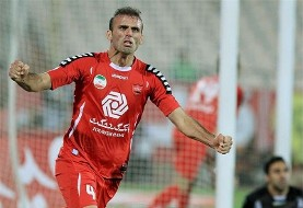 Captain Jalal with Persepolis against Foolad