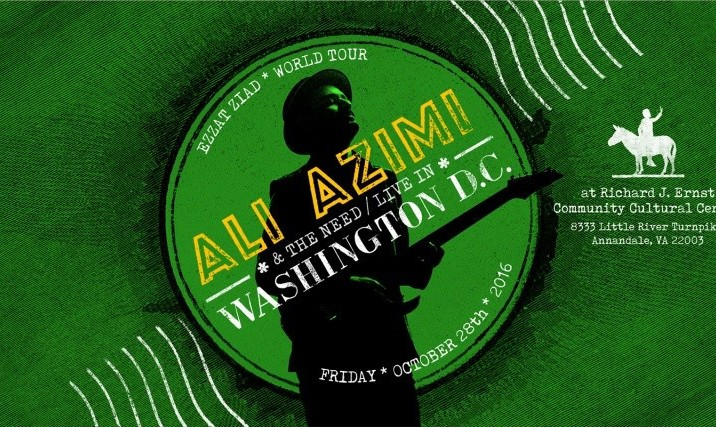 Ali Azimi and The Need Concert in Washington DC: Ezzat Ziad World Tour