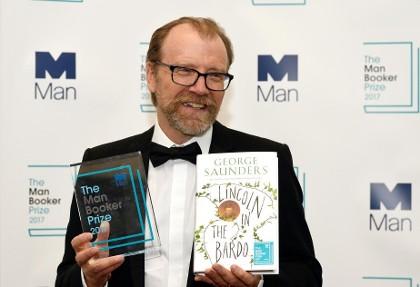 جایزه ادبی «من بوکر» ۲۰۱۷ به جرج ساندرز آمریکایی تعلق گرفت