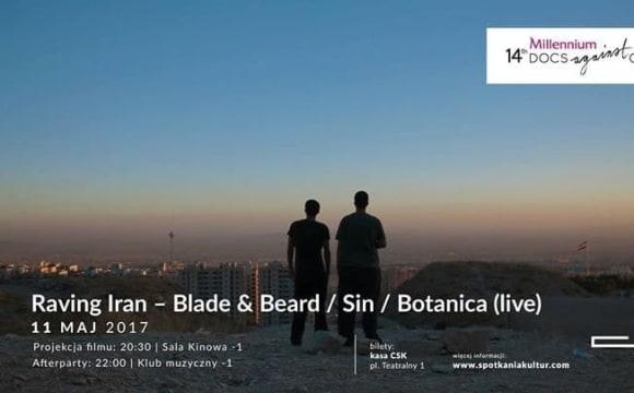 Screening of Raving Iran – Blade & Beard