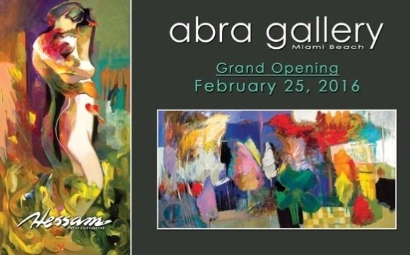 ABRA Gallery Miami Grand Opening: Iranian Artist Exhibition