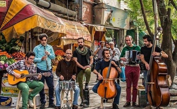 کنسرت گروه پالت در واشنگتن: شهر من بخند