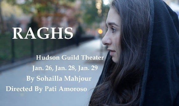 Raghs A One Woman Show by Sohailla Mahjour