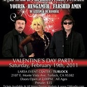 Farshid Amin, Hengameh and Yourik in Valentine's Party