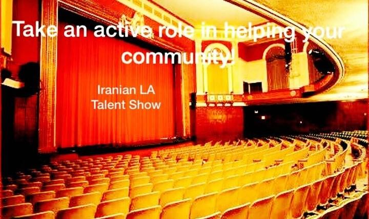 Iranian LA Talent Fundraising Show