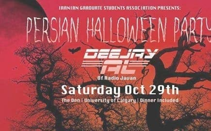 Persian Halloween Party with DeeJay AL