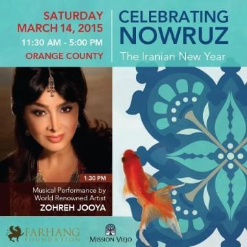 Farhang Foundation's Nowruz in Orange County