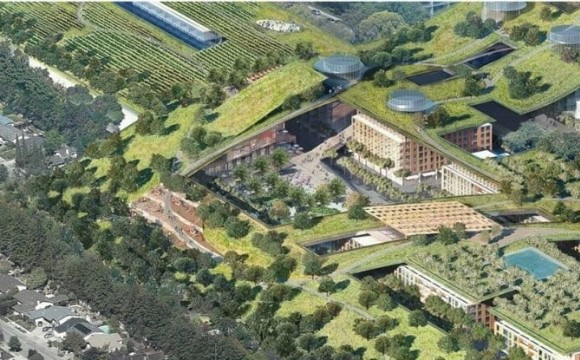 Development of World's Largest Green Roof: Vallco Revitalization Open House