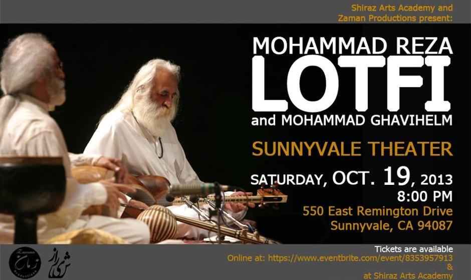 Maestro Lotfi's Concert - San Jose area.