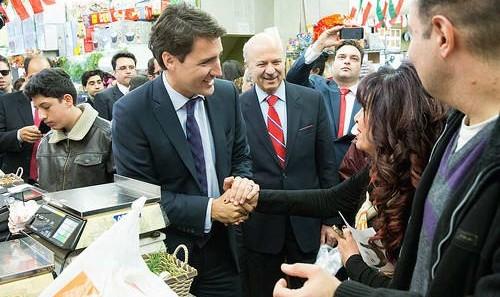 پیام مقامات آمریکا، کانادا و بریتانیا به مناسبت نوروز: نخست وزیر کانادا به محله و فروش گاههای ایرانی رفت