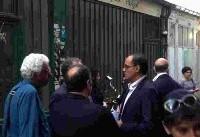 مراسم یادبود کیارستمی در پاریس