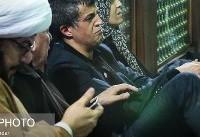 تصاویر داخل ضریح در هنگام تدفین آیت الله هاشمی رفسنجانی