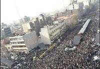 تشییع پیکر هاشمی؛بزرگ ترین تشییع رسمی پس از رحلت امام