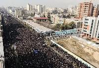۲.۵ میلیون نفر در تشییع آیت الله هاشمی