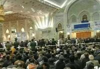 پایان مراسم تدفین آیتالله هاشمی رفسنجانی + تصویر