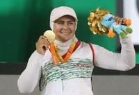 زهرا نعمتی به عنوان یکی از ورزشکاران شاخص معرفی شد
