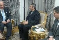 حضور نماینده وزارت خارجه مصر در دفتر حفاظت منافع ایران برای ابلاغ تسلیت سامح شکری+عکس