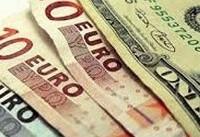 چهارشنبه ۲۲ دی   افت ارزش دلار و پوند و تقویت یورو بانکی