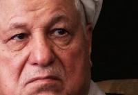 پیکر آیت الله رفسنجانی وارد مصلای دانشگاه تهران شد