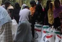 سومین محموله کمکهای ایران به مسلمانان میانمار، تحویل شد