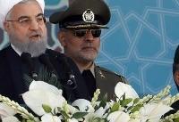 هشدار روحانی به آمریکا و حمایت قاطع از سپاه پاسداران