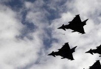Spanish Eurofighter crashes after national day parade, pilot dead
