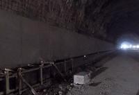ترکیدگی لوله آب در تونل توحید