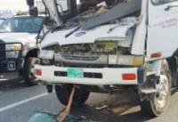 ۷ کشته و مصدوم در تصادف زنجیرهای در دوبی