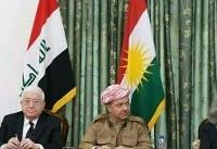 نشست دو حزب اصلی شمال عراق با حضور معصوم و بارزانی