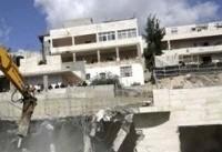 تخریب سه كانكس مسكونی فلسطینیها در قدس