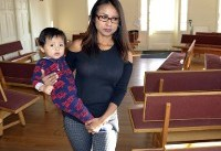 Woman facing deportation seeks sanctuary a second time