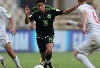 صعود یوز بچههای ایران به یک چهارم نهایی با شکست مکزیک