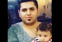 فیلم: تدفین اهورا | آخرین وداع پدر اهورا با پسر ۲ ساله اش +فیلم