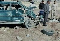خودروی حامل دانش آموزان روستایی واژگون شد