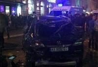برخورد خودرو با جمعیت در اوکراین ۱۱ کشته و زخمی بر جای گذاشت