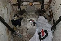 سقوط بانوی میانسال به چاهک آسانسور +عکس